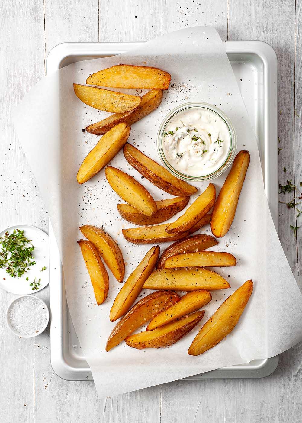Ofenkartoffeln mit Sour Cream
